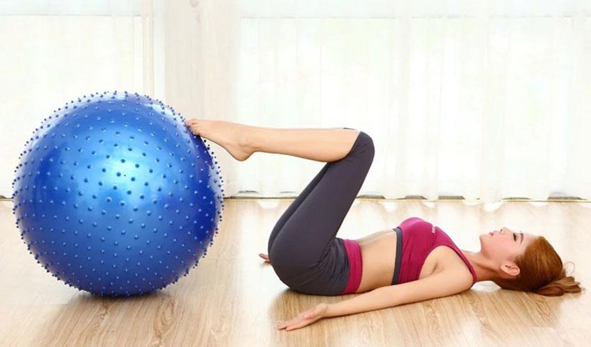 bóng tập yoga bầu dục
