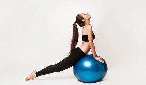 bóng tập yoga loại trơn