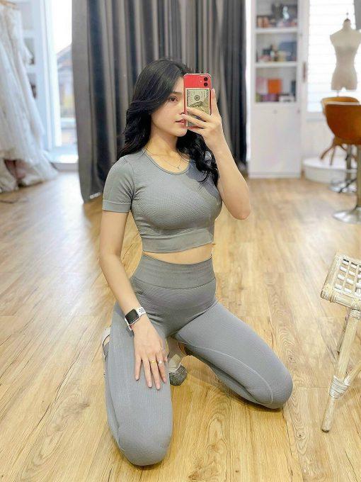 combo-croptop ao quan yoga gym tai hue
